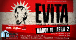 Cast List for EVITA