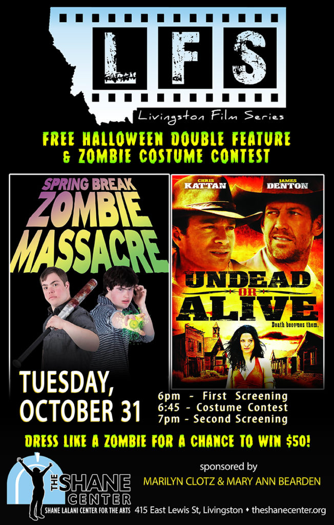 Livingston Film Series Halloween Double Feature - Shane Lalani ...