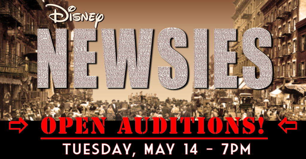 Open Auditions for NEWSIES - Shane Lalani Center for the Arts
