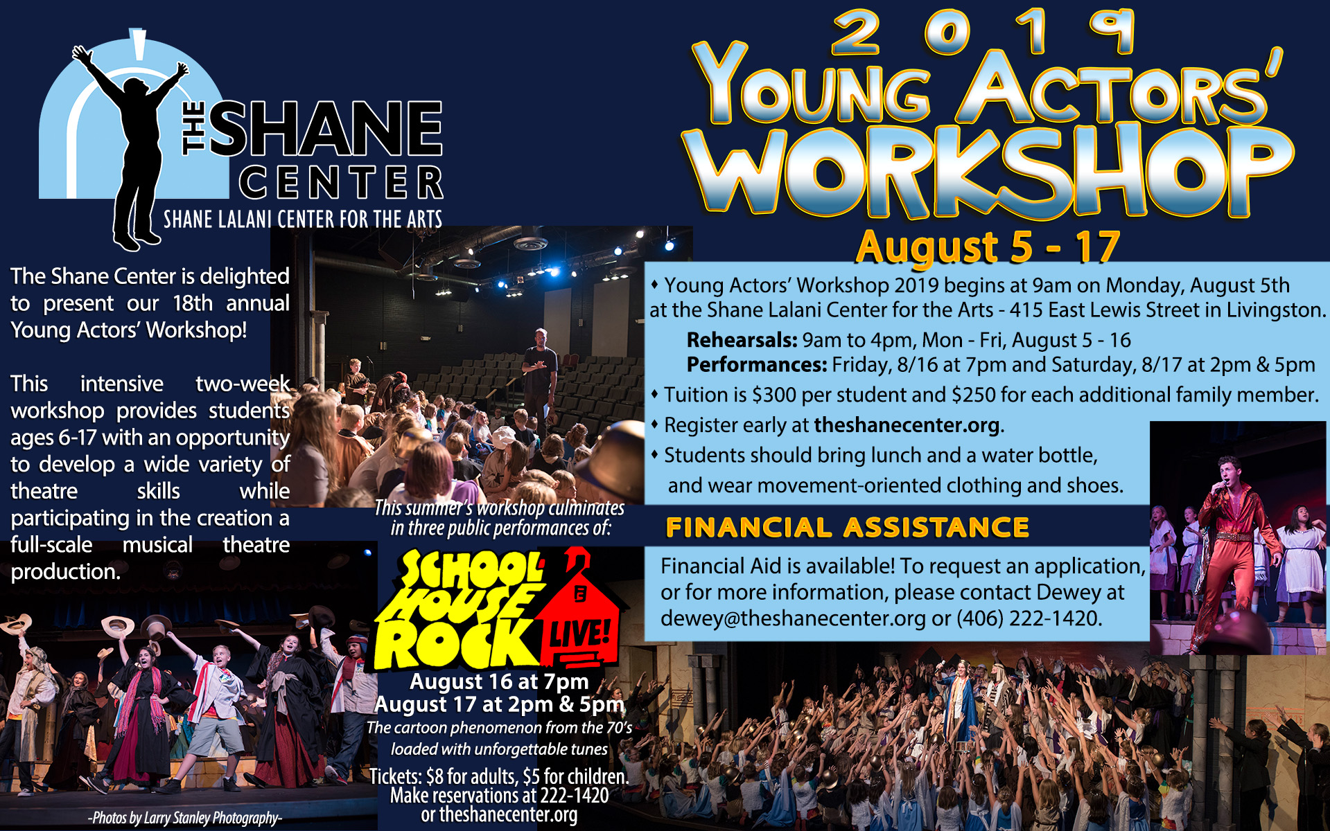Young Actors' Workshop 2019 - Shane Lalani Center for the Arts